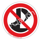 Do Not Step Label (IS6179-)