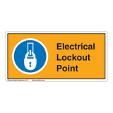 Electrical Lockout Point Label (LP001-)