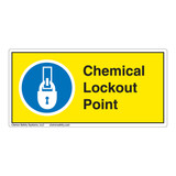 Chemical Lockout Point Label (LP004-)