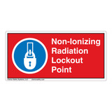 Non-Ionizing Radiation Lockout Point Label (LP008-)