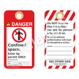 Danger/Confined Space Tag (ST1007a-1)