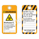 Warning/Biohazard Tag (ST2011a-1)