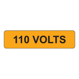 110 Volts Label (V110-)