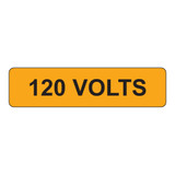 120 Volts Label (V120-)