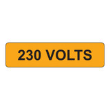 230 Volts Label (V230-)