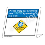 Placard/Watch Your Children Sign (WSS1702-35g-e) )