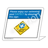 Placard/Non-Swimmers Wear Life Jackets Sign (WSS1705-35g-e) )