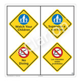 Watch Your Children Sign (WSS2211-51b-esm) )