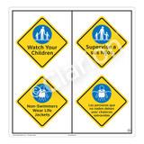Watch Your Children Sign (WSS2213-51b-esm) )