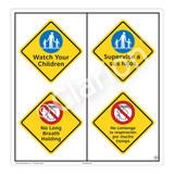 Watch Your Children Sign (WSS2214-51b-esm) )