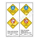 Watch Your Children Sign (WSS2261-53b-esm) )