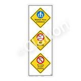 Watch Your Children Sign (WSS2320-54b-e) )
