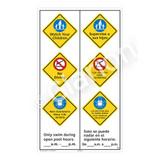 Watch Your Children Sign (WSS2369-57b-esm) )