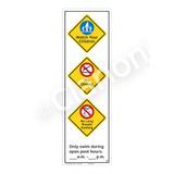 Watch Your Children Sign (WSS2370-56b-e) )