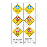 Watch Your Children Sign (WSS2370-57b-esm) )