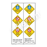 Watch Your Children Sign (WSS2372-57b-esm) )