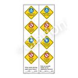 Watch Your Children Sign (WSS2464-61b-esm) )