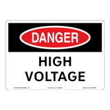 Danger/High Voltage Sign (OS1001DH-)