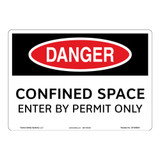 Danger/Confined Space Sign (OS1009DH-)