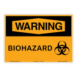 Warning/Biohazard Sign (OS1018WH-)