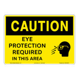 Caution/Eye Protectiom Sign (OS1043CH-)
