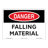 Danger/Falling Material Sign (OS1069DH-)
