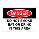 Danger/Do Not Smoke Sign (OS1081DH-)