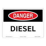 Danger/Diesel Sign (OS1085DH-)