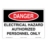 Danger/Electrical Hazard Sign (OS1087DH-)