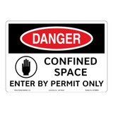 Danger/Confined Space Sign (OS1088DH-)