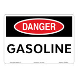 Danger/Gasoline Sign (OS1089DH-)