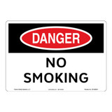 Danger/No Smoking Sign (OS1092DH-)