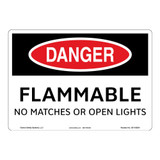 Danger/Flammable Sign (OS1102DH-)