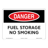 Danger/Fuel Storage Sign (OS1104DH-)
