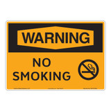 Warning/No Smoking Sign (OS1133WH-)