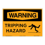 Warning/Tripping Hazard Sign (OS1150WH-)