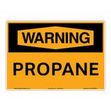 Warning/Propane Sign (OS1153WH-)