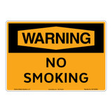 Warning/No Smoking Sign (OS1160WH-)