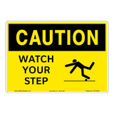 Caution/Watch Your Step Sign (OS1185CH-)