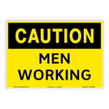 Caution/Men Working Sign (OS1186CH-)