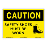 Caution/Safety Shoes Sign (OS1222CH-)