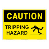 Caution/Tripping Hazard Sign (OS1226CH-)