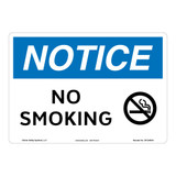 Notice/No Smoking Sign (OS1240NH-)
