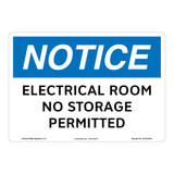 Notice/Electrical Room Sign (OS1247NH-)