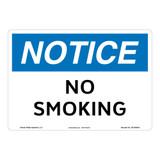 Notice/No Smoking Sign (OS1250NH-)