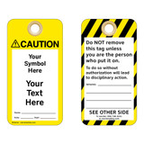 Custom Caution Tag