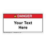 Custom Danger Label