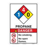Danger Propane Sign (F1342-)