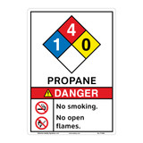 Danger Propane Sign (F1342-)