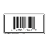 Custom UPC Barcode Label
